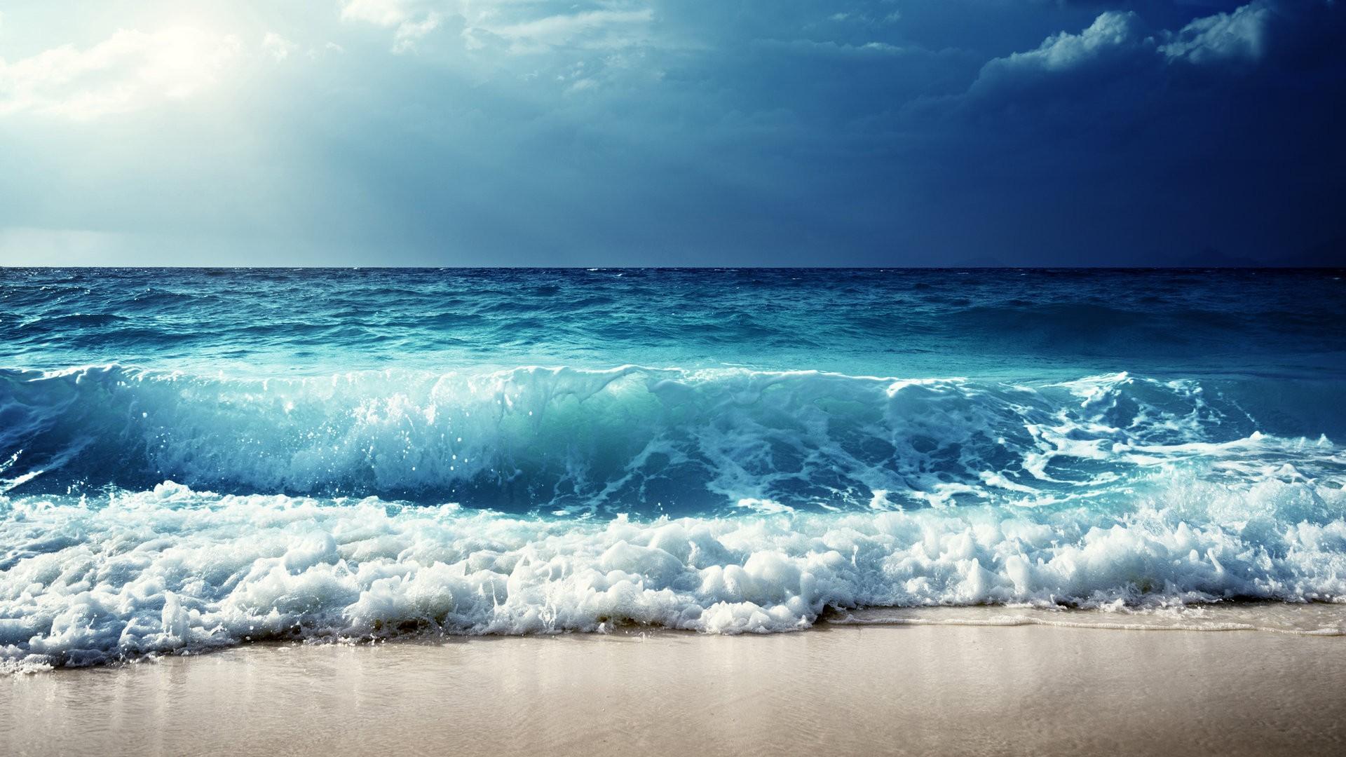 海浪动态壁纸高清